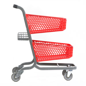 105px shopping cart manufacture advancecarts