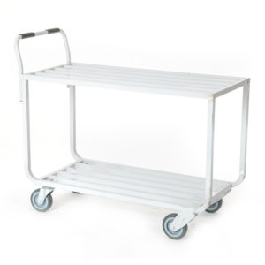Organizer material handler advance cart